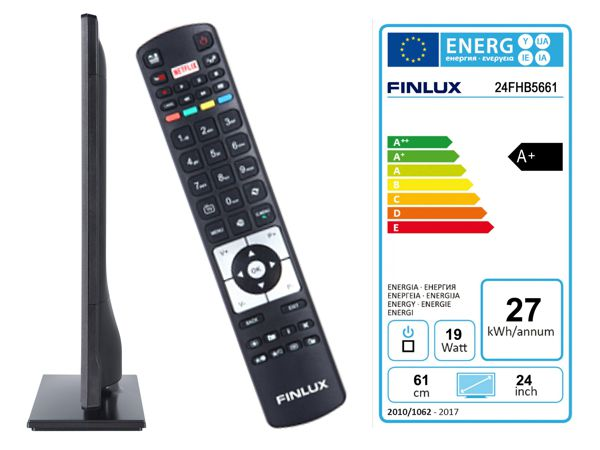 Finlux 24FHB5661, 61 cm, HD Ready, Smart TV, černý - foto 3