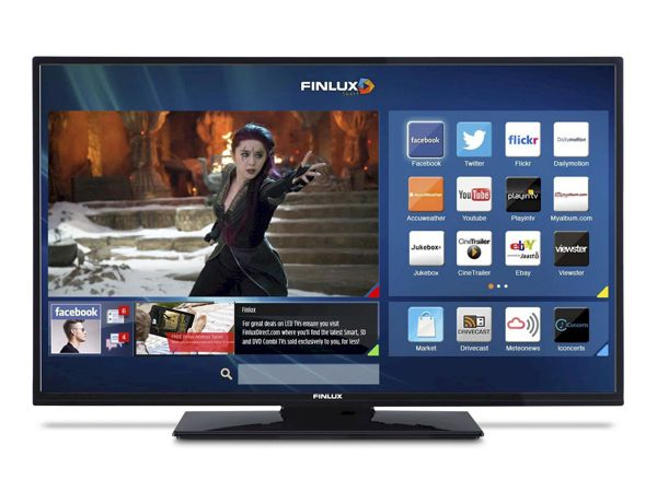 Finlux 43FFC5160, 109 cm, Full HD, Smart TV, černý - foto 2