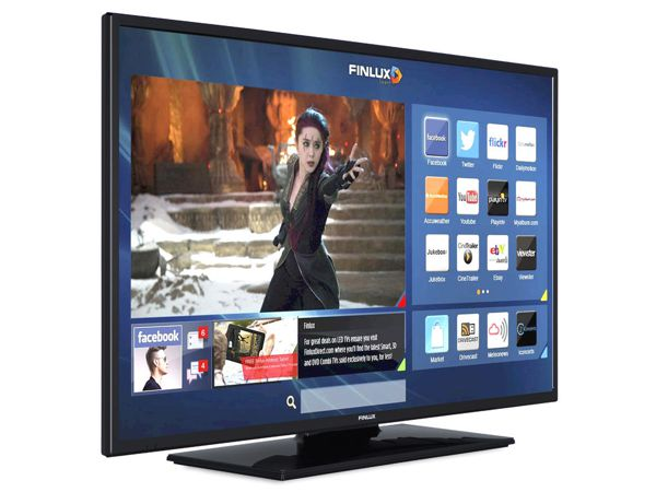 Finlux 43FUC7060, 109 cm, Ultra HD, Smart TV, černý - foto 2