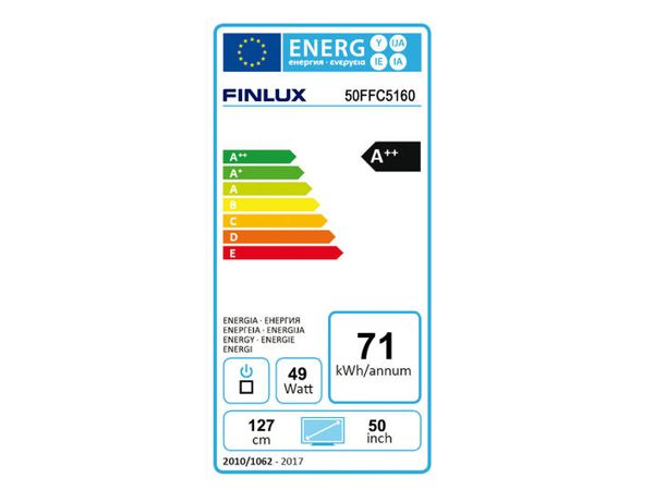 Finlux 50FFC5160, 128 cm, Full HD, Smart TV, černý - foto 4
