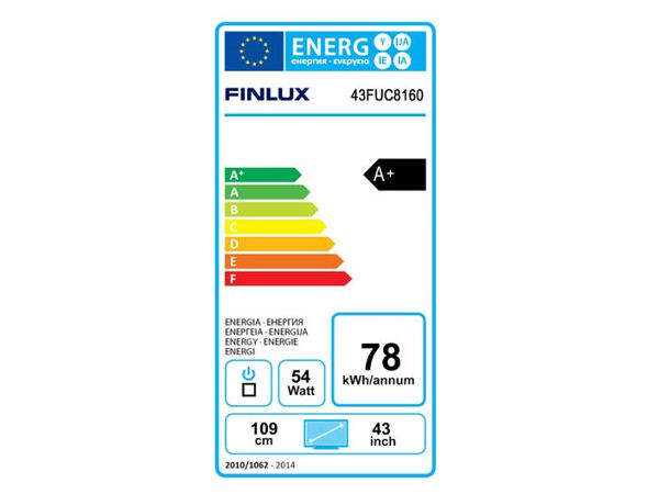 Finlux 55FUC8160, 140 cm, Ultra HD, ultratenký panel, Smart TV, černý - foto 4