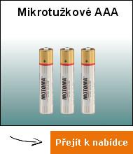 Mikrotužkové AAA
