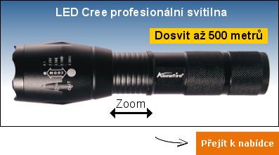 LED Cree svítilna