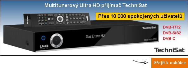 Ultra HD přijímač TechniSat STC 4K