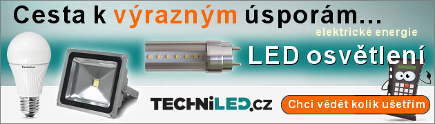 LED osv�tlen� TechniLED - cesta k �spor�m