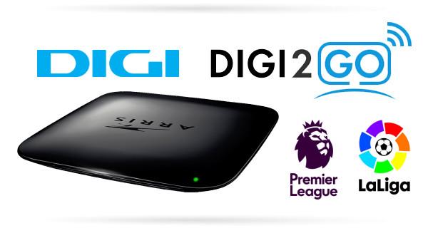 Arris VIP1113M set top box pro Digi2GO