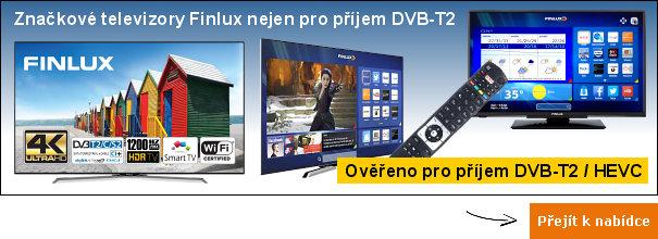 DVB-T2 televizory Finlux
