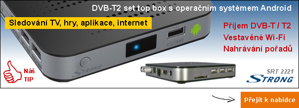 DVB-T2 set top box Strong SRT 2221 Android