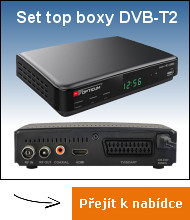 DVB-T2 set top boxy