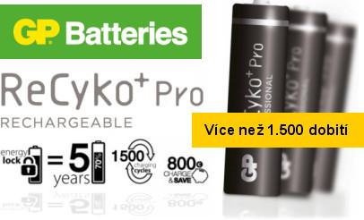 GP batteries Recyko+ Pro