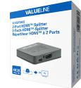 HDMI rozbočovač Valueline VLVSP3402