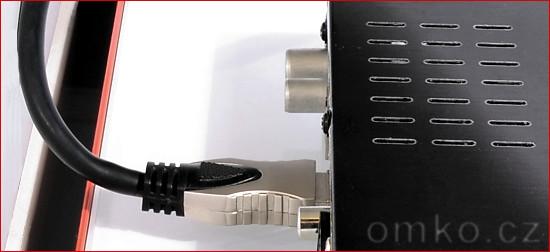 HDMI adaptér Valueline příklad použití - bez adaptéru