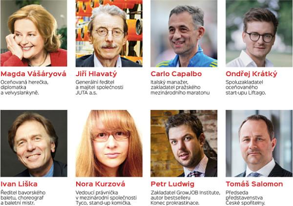 Speakeři konference LeaderShip Praha 2016