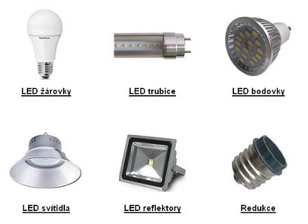 Nabídka LED osvětlení TechniLED