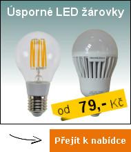 Úsporné lED žárovky