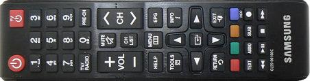 Délkové ovládání Samsung EVO-S