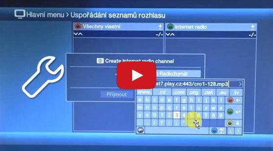 Video: Jak naladit internetová rádia na přijímačích TechniSat