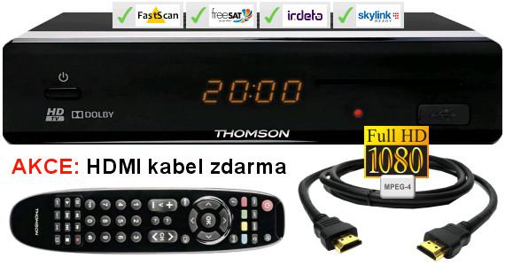 HD satelitní přijímač Thomson THS 813